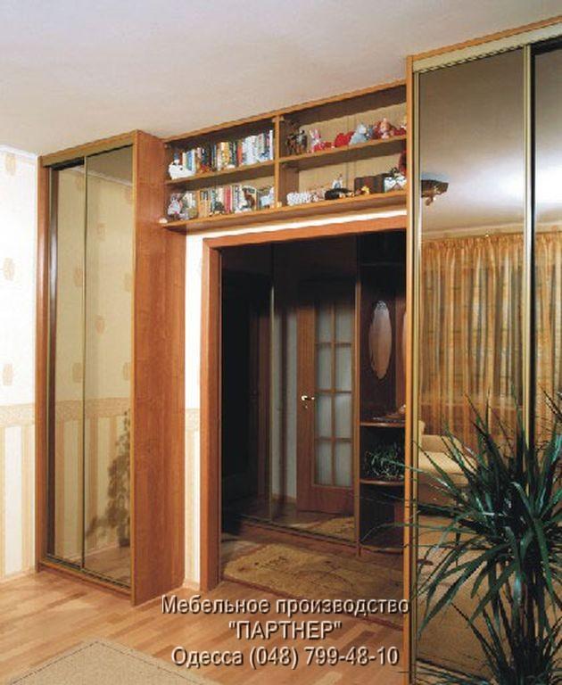 Шкаф-купе в гостиную (арт. 2699_1).